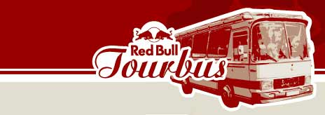 red bull tourbus